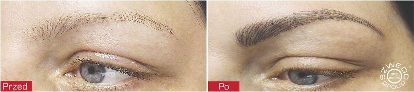 Metoda piórkowa TAFFY - makijaż permanentny brwi i kresek