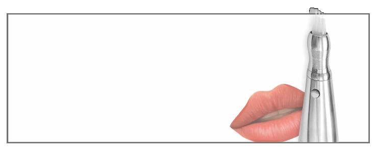 ODED System 3 igłowej pigmentacji ust (konturowanie, cieniowanie, wypełnienie, usta 3d, usta bezkonturowe, nude lips)